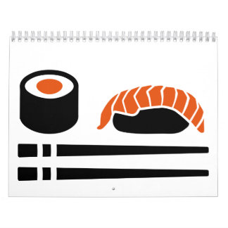Sushi sashimi sticks calendar