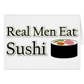 Sushi Saying Greeting Card