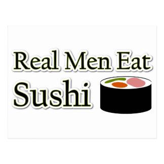 Sushi Saying Postcard