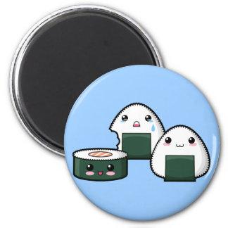 Sushi Set 2 Inch Round Magnet