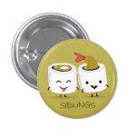 Sushi Siblings Button
