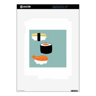 Sushi iPad 2 Skin