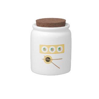 Sushi Soy Sauce Candy Jar