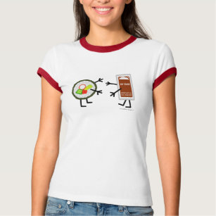 Sushi & Soy Sauce - Customizable T-Shirt