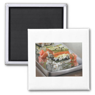 Sushi Squares Gifts Tees Mugs Cards Etc Magnets