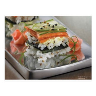 Sushi Squares Gifts Tees Mugs Cards Etc Post Card