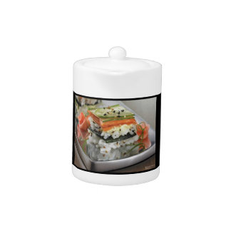 Sushi Squares Teapot by Rick London