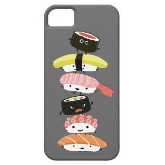 Sushi Stack - A Kawaii Tower of Sushi Characters iPhone SE/5/5s Case