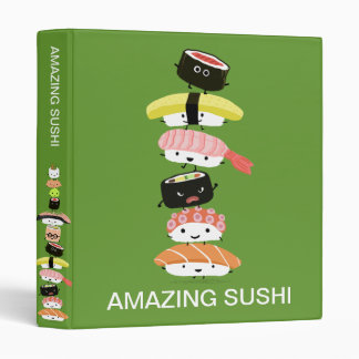 Sushi Stack - Kawaii Tower of Fun Friends Binder