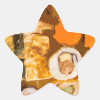 Sushi Star Sticker