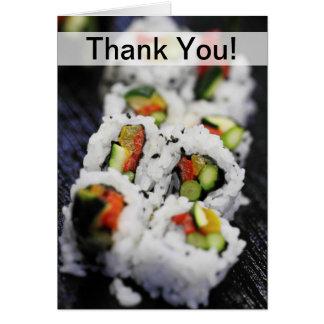 Sushi Stationery Note Card