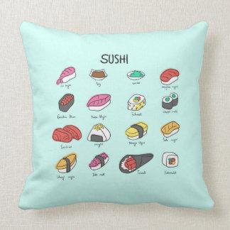¡Sushi, sushi, sushi! ¡Consiga su almohada de tiro