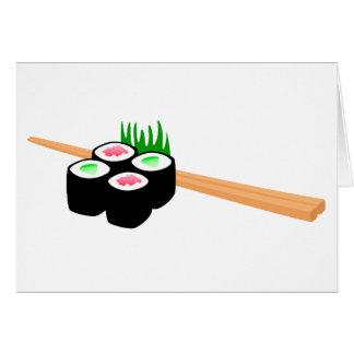 Sushi Tarjeta De Felicitación