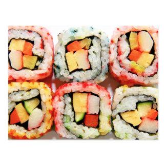 Sushi Tarjeta Postal