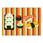 Sushi Thank You Cards Note Card