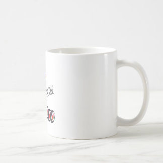 Sushi Time Classic White Coffee Mug