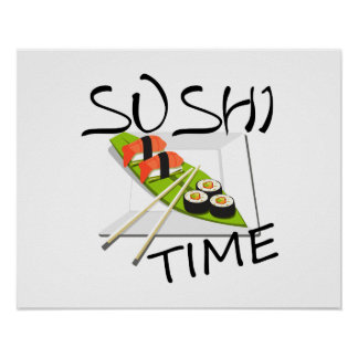 Sushi Time Poster