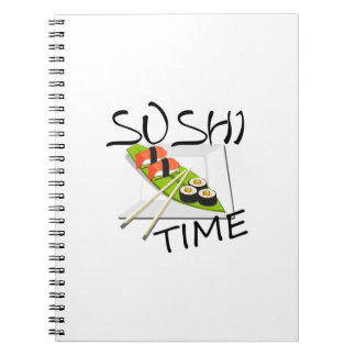 Sushi Time Spiral Notebook