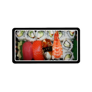 Sushi Tray Labels