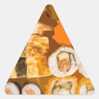 Sushi Triangle Sticker