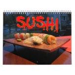 Sushi Wall Calendar