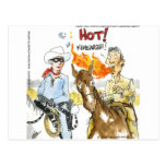#Sushi Wasabi Of The Old West Funny Gifts Etc Postcard