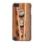 Sushi y palillos de madera carcasa para iPod touch 5G