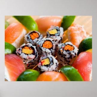Sushi y Rolls Impresiones