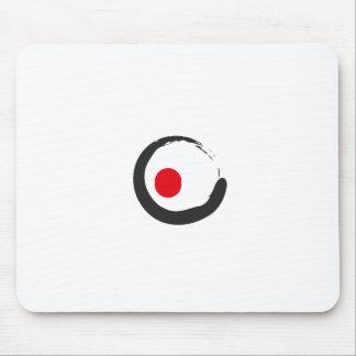 Sushi Zen Minimalist Icon Mouse Pad