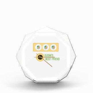 Sushi's Best Friend Acrylic Award