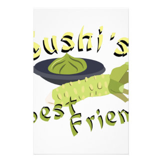 Sushis Friend Stationery