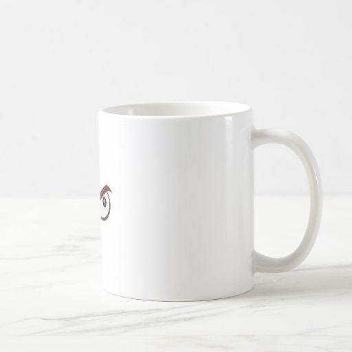 Suspect Look Coffee Mug