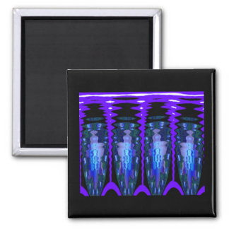 Suspended Animation 2 Inch Square Magnet