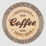 Suspended Coffees Supporter Stickers