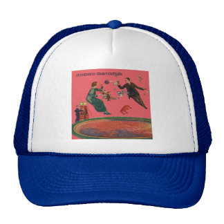 Suspended Gravitation Mesh Hats