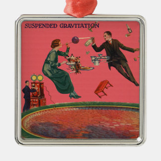 Suspended Gravitation Metal Ornament