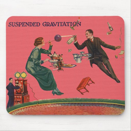 Suspended Gravitation Mouse Pad