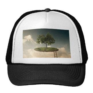 Suspended land trucker hat