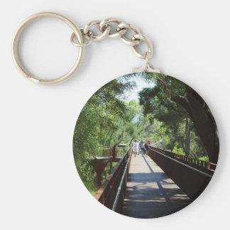 Suspended Walkway At Kings Park In Western Austral Key Chain