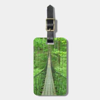 Suspension Bridge Bag Tag