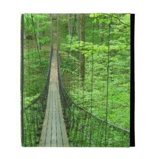 Suspension Bridge iPad Folio Cover