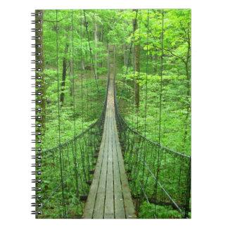 Suspension Bridge Notebook