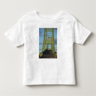 Suspension bridge onto Little Deer Isle Toddler T-shirt