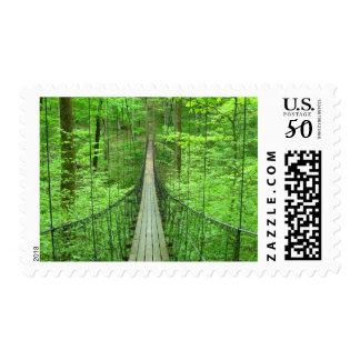 Suspension Bridge Postage