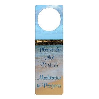 Suspensión de puerta tropical de la meditación de  colgadores para puertas