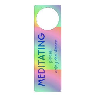 Suspensión del tirador de la meditación colgante para puerta