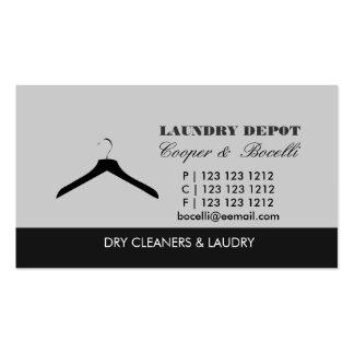 Suspensión mínima del lavadero sucio de la materia tarjetas de visita