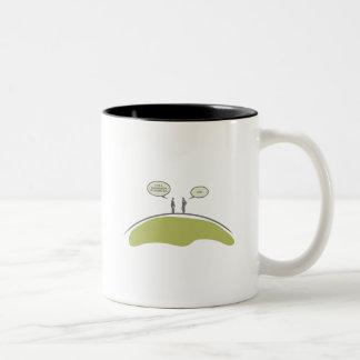 Suspension of Disbelief Two-Tone Coffee Mug