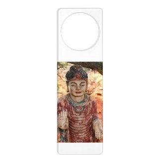 suspensión roja tallada de Buda Colgante Para Puerta