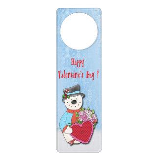 Suspensiones de puerta del el día de San Valentín Colgador Para Puerta